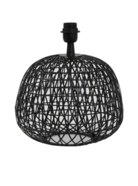 Lampvoet Ø32x28,5 cm ALWINA mat zwart