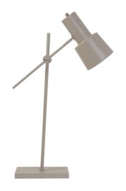 Tafellamp 25x15x68-82 cm PRESTON mat zand