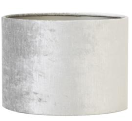 Kap cilinder 30-30-21 cm GEMSTONE zilver