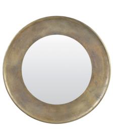 Spiegel Ø88x5 cm SANA antiek brons