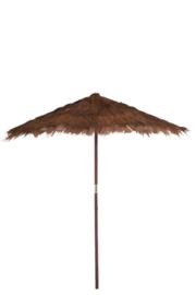 Parasol Cocobladeren Bruin Large