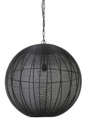 Hanglamp Ø60x63 cm AMARAH mat zwart