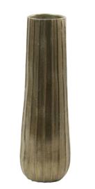 Vaas deco Ø16,5x51 cm SHAILA antiek brons