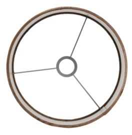 Kap cilinder 35-35-30 cm GEMSTONE bruin