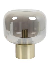 Tafellamp Ø29,5x33,5 cm ARTURAN glas smoke+brons