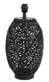 Lampvoet Ø26x44 cm SINULA mat zwart