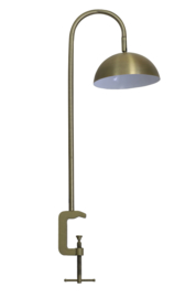 Tafellamp met klem LED 30x20x78 cm JUPITER antiek brons