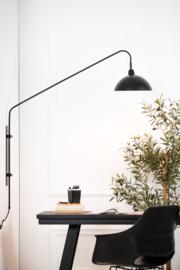 VT Wonen-Wandlamp 110x30x127 cm ORION mat zwart