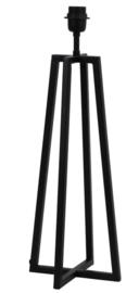 Lampvoet 21x21x56 cm MILEY mat zwart