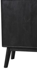 Kast 104x40x158 cm ESPITA hout zwart