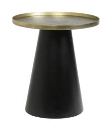 Bijzettafel Ø50x55 cm POPETA antiek brons