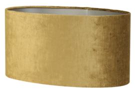 Kap ovaal recht smal 58-24-27 cm GEMSTONE goud