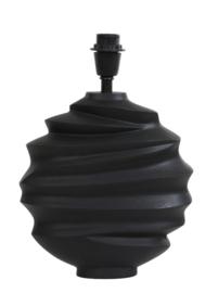 Lampvoet 29x10x38 cm SHARON mat zwart
