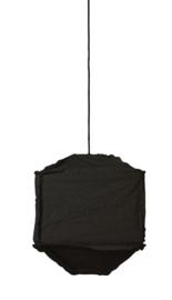 VT Wonen-Hanglamp 40x40x50 cm TITAN zwart