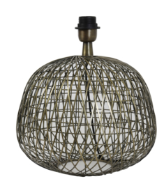 Lampvoet Ø32x28,5 cm ALWINA antiek brons