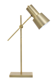 Tafellamp 25x15x68-82 cm PRESTON antiek brons
