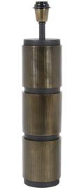 Lampvoet Ø13,5x57 cm JASO antiek brons-mat zwart
