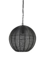 Hanglamp Ø40x44 cm AMARAH mat zwart