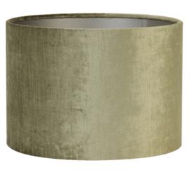 Kap cilinder 30-30-21 cm GEMSTONE olive