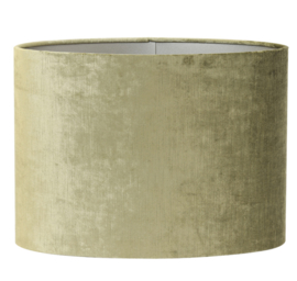 Kap ovaal recht smal 58-24-32 cm GEMSTONE olive