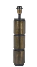 Lampvoet Ø10,5x51 cm JASO antiek brons-mat zwart