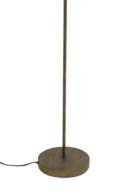 Vloerlamp Ø47x158 cm PALM antiek brons