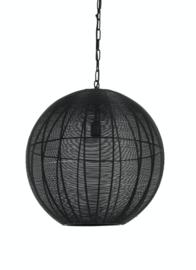 Hanglamp Ø50x54 cm AMARAH mat zwart