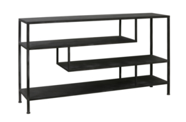 Side table 140x35x80,5 cm YLAYA antiek zwart