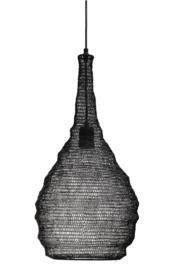 Sarsa Black iron hanging lamp wire design