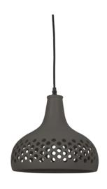 VT Wonen-Hanglamp Ø33x31,5 cm MERCURIUS keramiek donker grijs