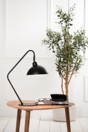 VT Wonen Bureaulamp 36x22x50 cm ORION mat zwart