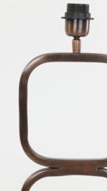 Lampvoet 23x11,5x69 cm LUTIKA antiek koper