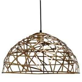 Castor Brass iron hanging lamp geometric design -PTMD-