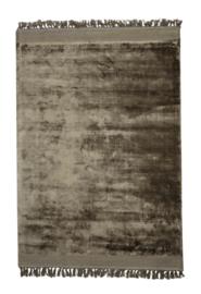 Vloerkleed 230x160 cm SITAL koffie met franjes