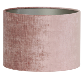 Kap cilinder 30-30-21 cm GEMSTONE oud roze