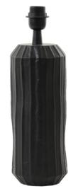 Lampvoet Ø13x37 cm LEVY mat zwart