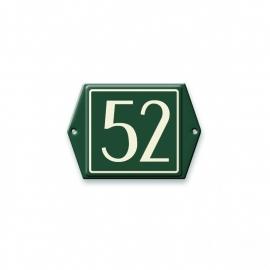 3D gegoten huisnummer bord artnr.534