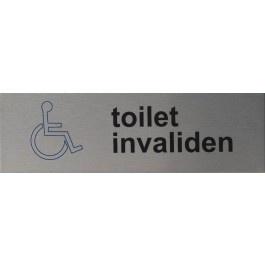 RVS standaard artnr.rp014 toilet invaliden