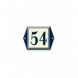 3D gegoten huisnummerbord artnr.532