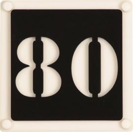 Naambord art nr. 6001