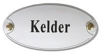 Emaille artnr. NS-1013 (10x5 cm) type Kelder