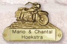 Messing Motorfiets Harley