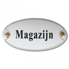 Emaille standaard Magazijn