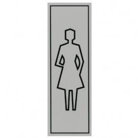 Toilet vrouw
