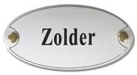 Emaille artnr. NS-1027 (10x5 cm) type zolder
