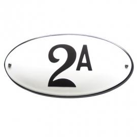 Emaille artnr. HG-17 (10x5) type rand