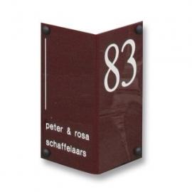 Acrylaat naambord artnr.GM013-GM015