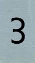 Aluminiumlook nummerbordje 3