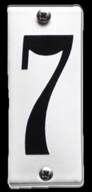 Emaille nummer 7 koppelbaar