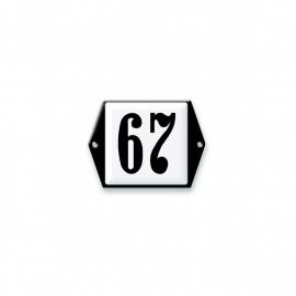 3D gegoten huisnummerbord artnr.531